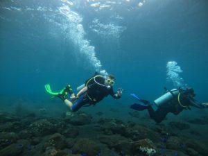 Under the ocean in Bali