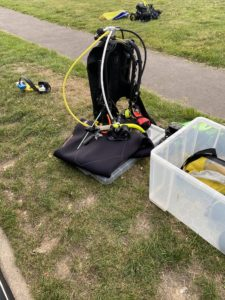 scuba equipments